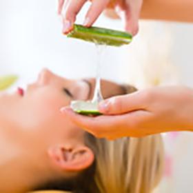 Aloevera Massage